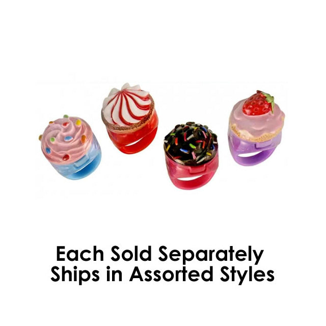 Cupcake Cutie Ring Gloss Assorted