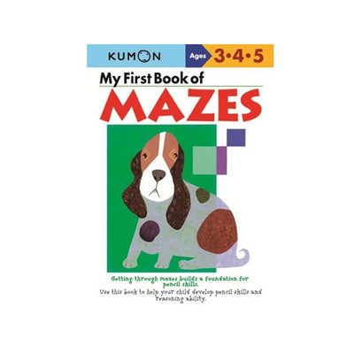Kumon My First Book of Mazes Workbook