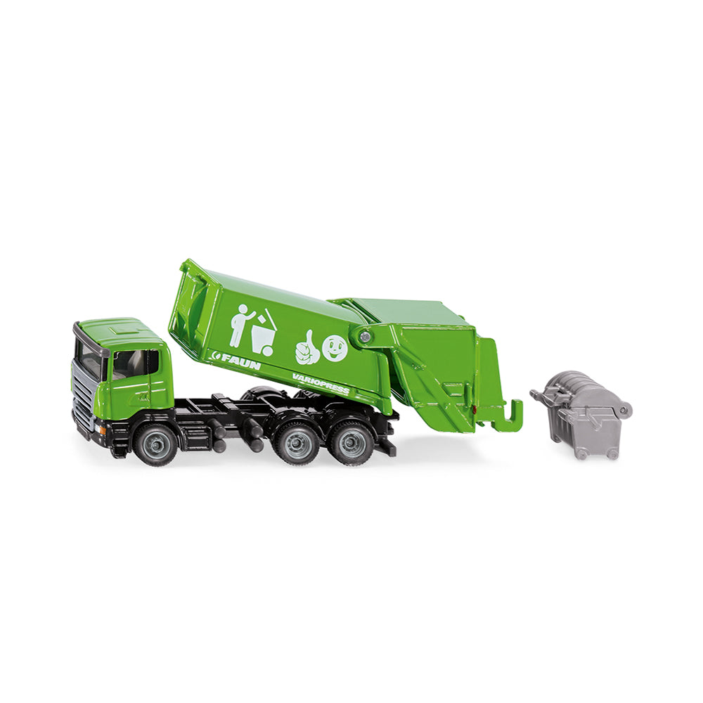 Siku Faun Variopress Garbage Truck 1:87 Scale Model