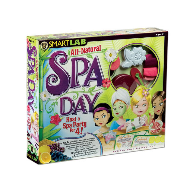 SmartLab All-Natural Spa Day Kit