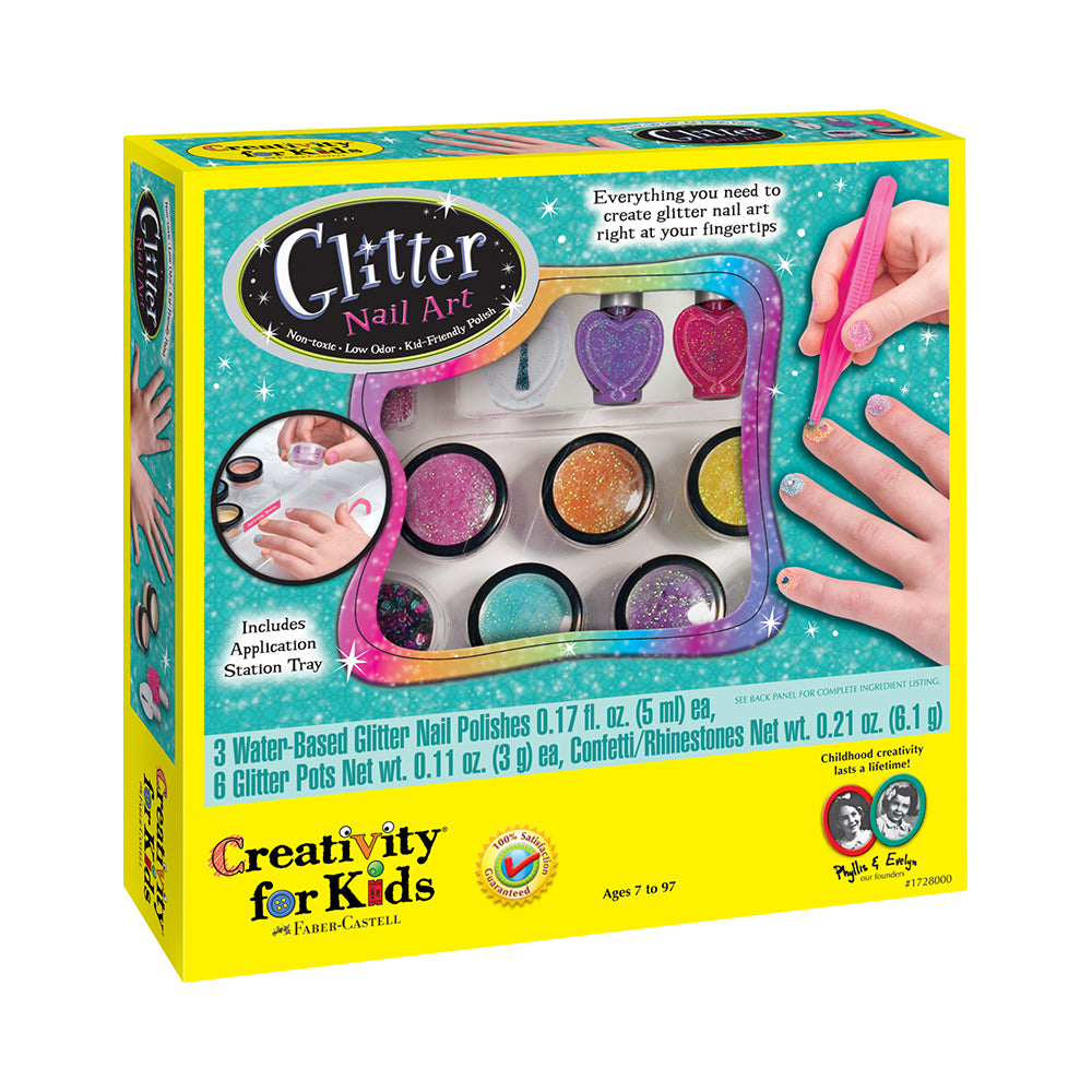 Creativty for Kids Glitter Nail Art Kit