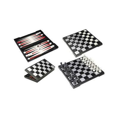 3 in 1 Magnetic Games Set
