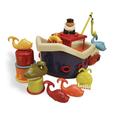 B. Bath Ship Fish and Splish Set