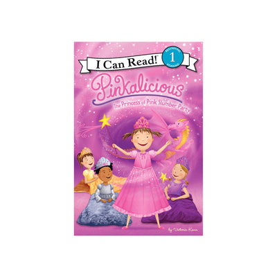 I Can Read! Pinkalicious: Princess of Pink Slumber Party Level 1 Reader