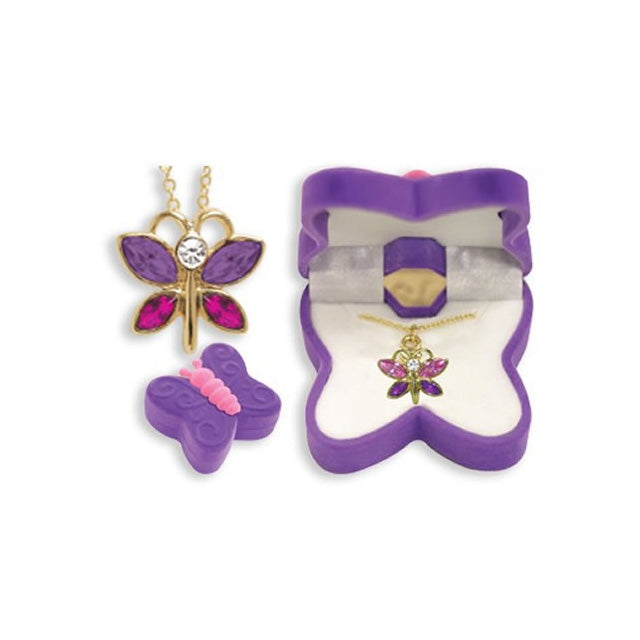 Butterfly Necklace in Butterfly Gift Box