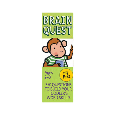 Brain Quest My First Revised 4th Edition 350 Questions and Answers Deck