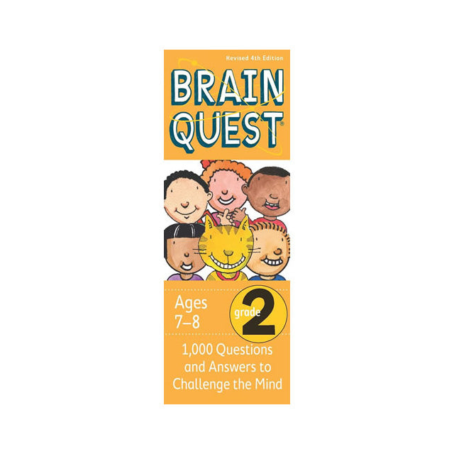 Brain Quest Grade 2 Revised 4th Edition 1,000 Questions and Answers to Challenge the Mind Deck