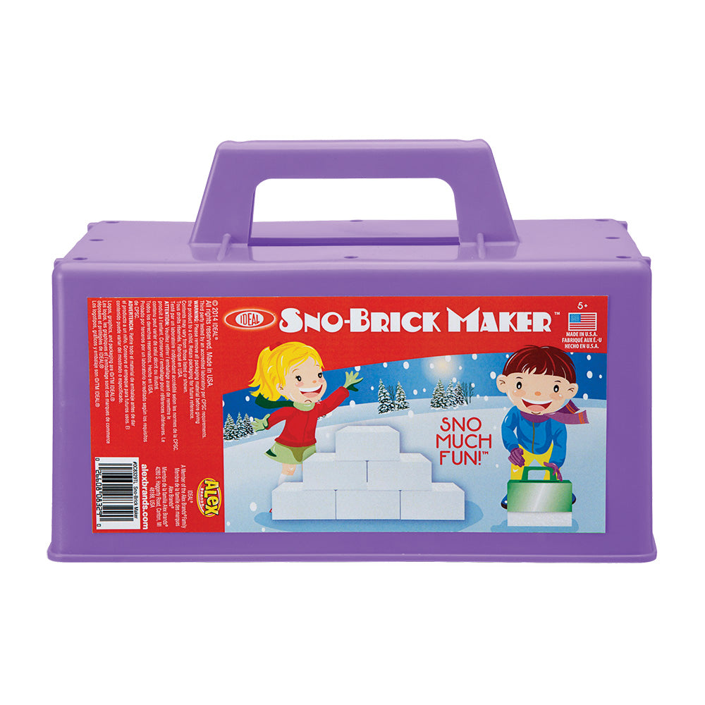 Ideal Sno Brick Maker Assorted