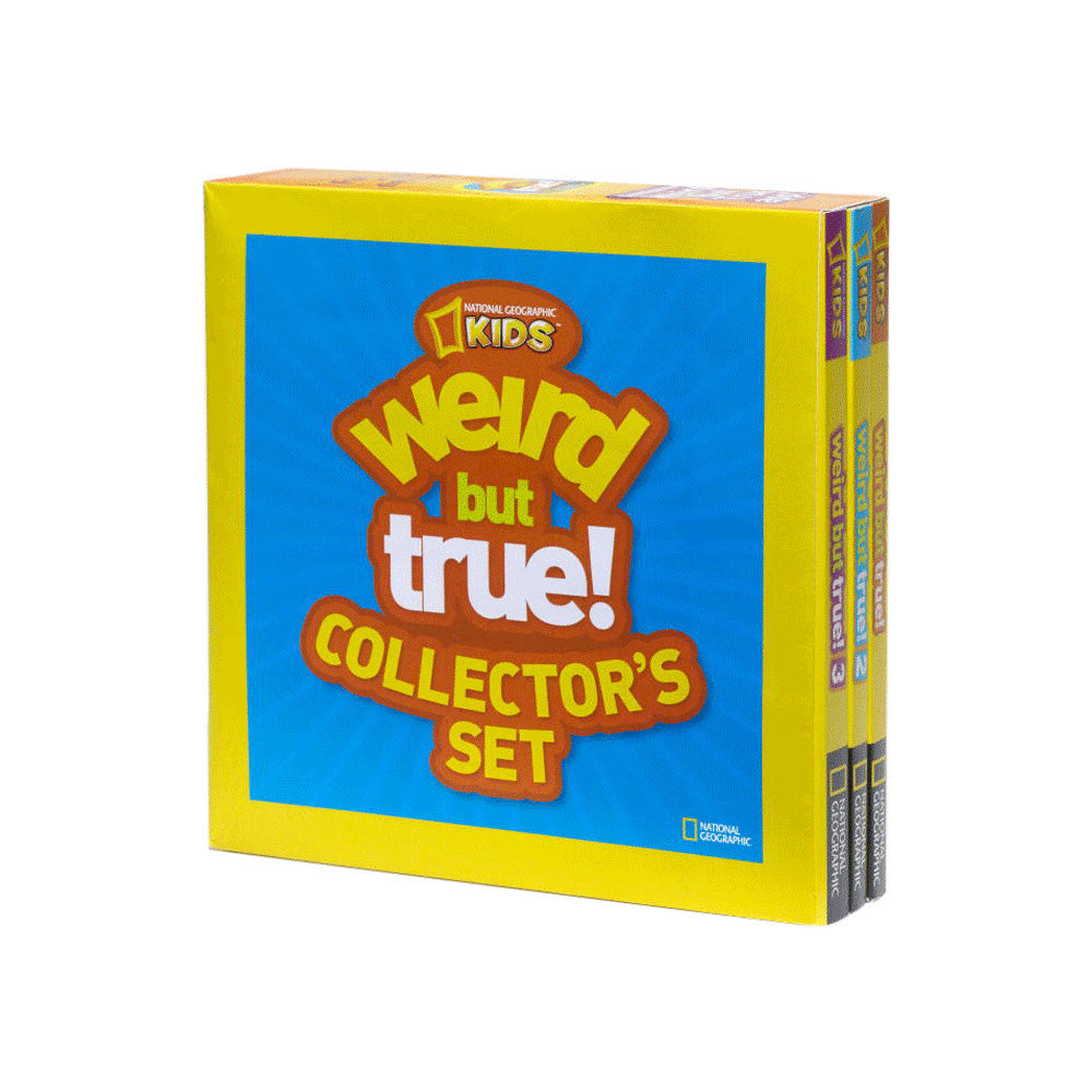 National Geographic Kids: Weird But True! Collector's Set