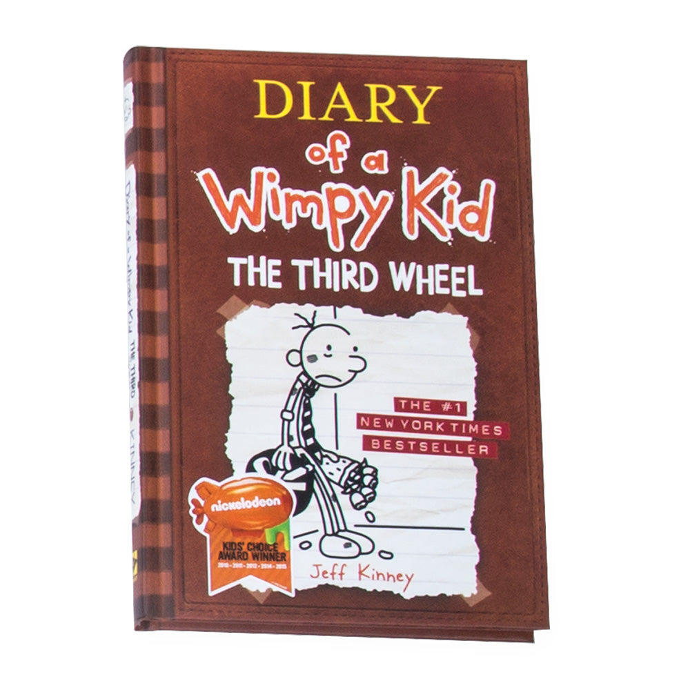 Diary of a Wimpy Kid #7 - The Third Wheel Novel