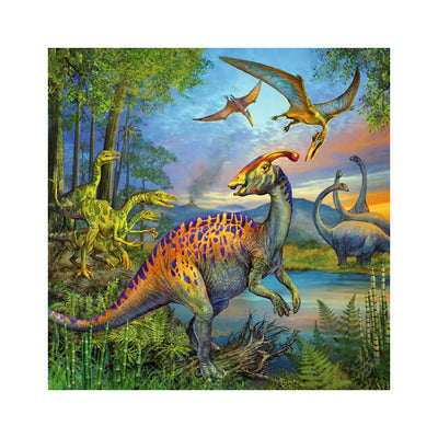 Ravensburger Dinosaur Facination 3 x 49 Piece Puzzles