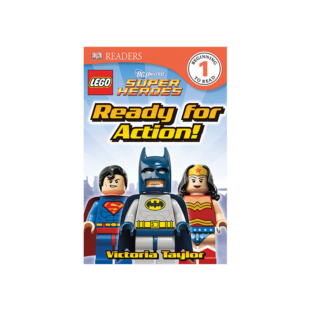 DC Universe LEGO Super Heroes Ready for Action! Level 1 Reader