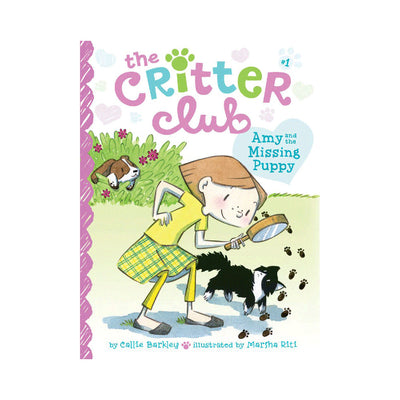 The Critter Club #1: Amy and the Missing Puppy