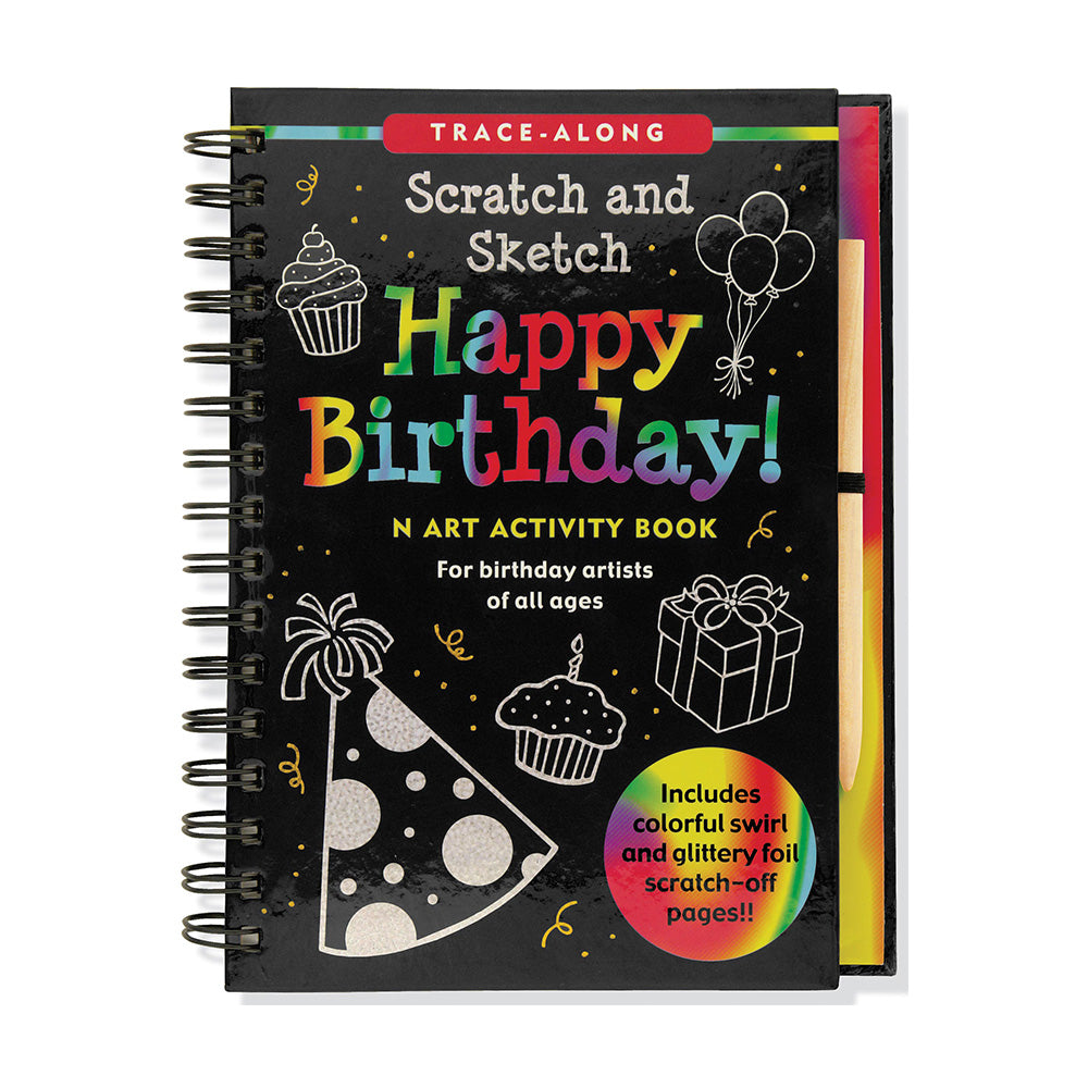 Scratch and Sketch Happy Birthday