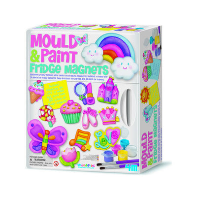 4M Deluxe Mould and Paint Fridge Magnets Kit