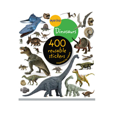 Eyelike Dinosaurs 400 Reusable Stickers