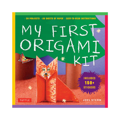 My First Origami Kit Book