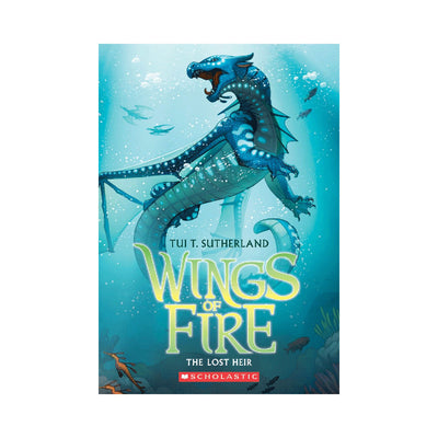 Wings of Fire #2: The Lost Heir Novel