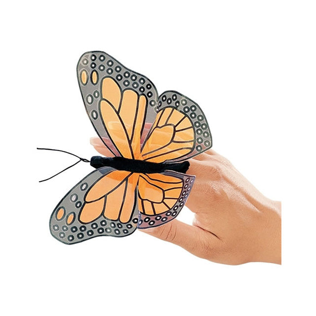 Folkmanis Monarch Butterfly Finger Puppet
