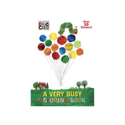 The World of Eric Carle: A Very Busy Coloring Book