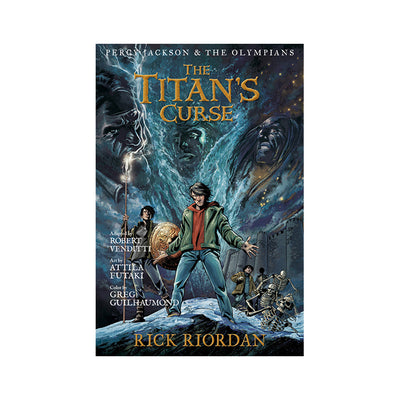 Percy Jackson & The Olympians #3: The Titan's Curse: The Graphic Novel