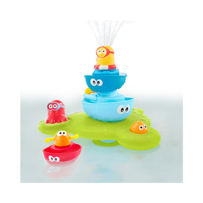 Yookidoo Stack 'N' Spray Tub Fountain Bath Toy
