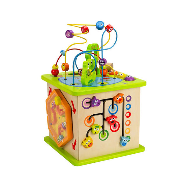 Hape Country Critters Wooden Play Cube