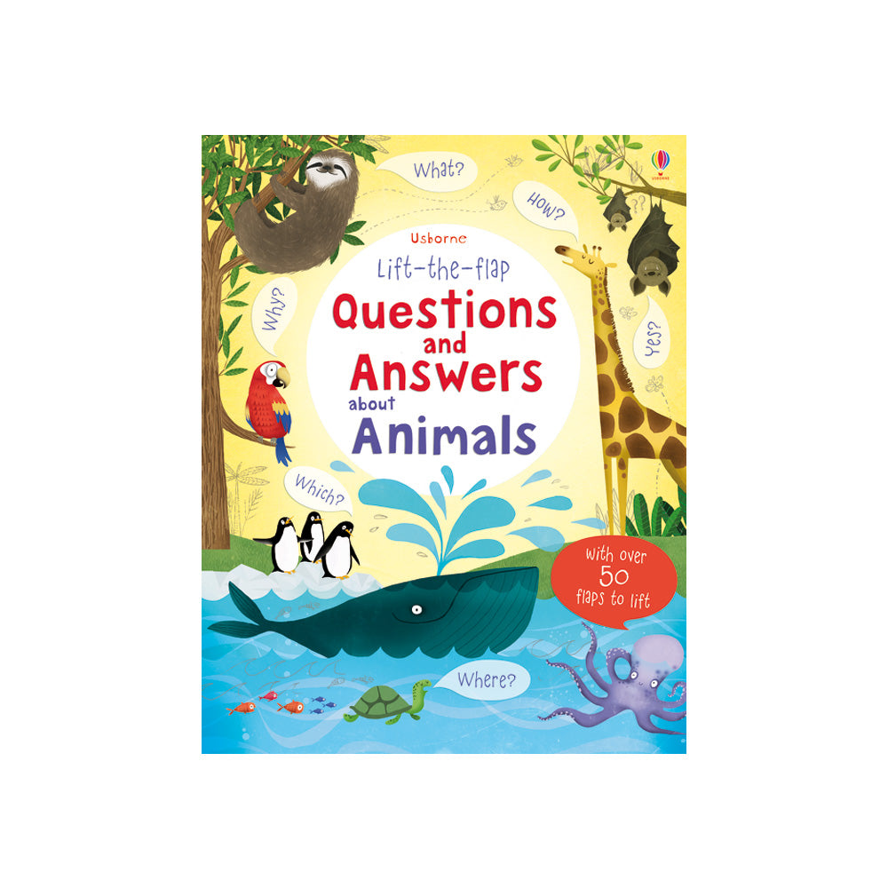 Questions and Answers Animals Lift-the-Flap