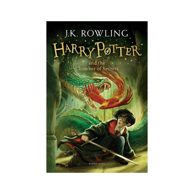 Harry Potter #2 - Harry Potter and the Chamber of Secrets Novel