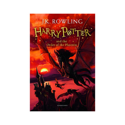 Harry Potter #5 - Harry Potter and the Order of the Pheonix Novel
