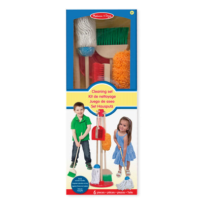 Melissa and Doug Let's Play House Dust, Sweep, and Mop