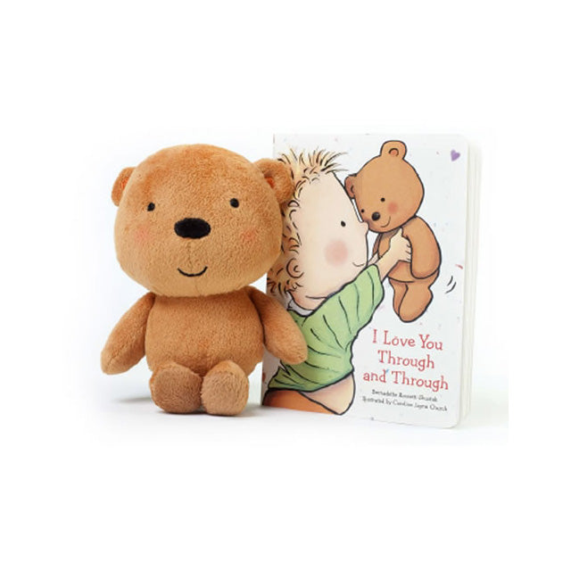 I Love You Through and Through Board Book and Plush