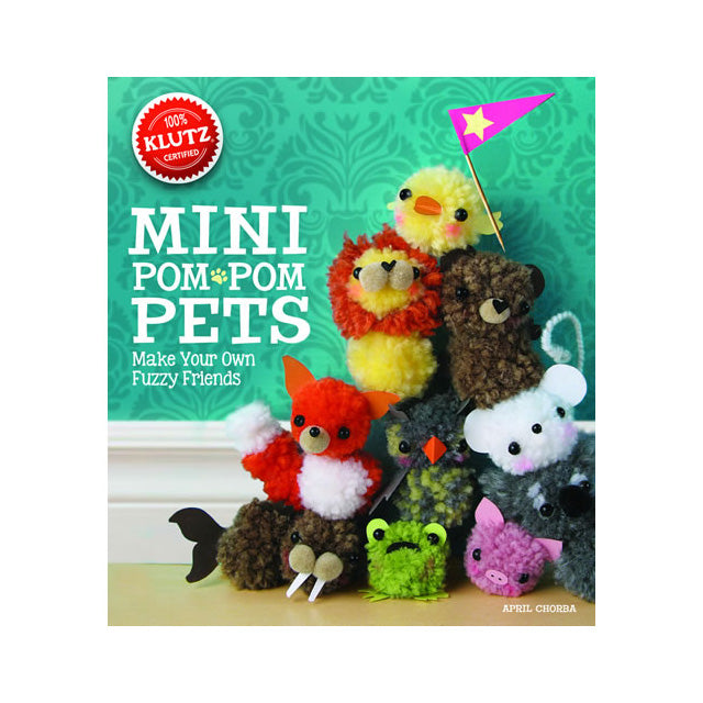 Klutz Mini Pom-Pom Pets Book