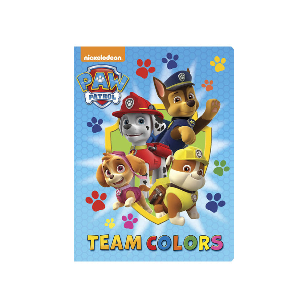 PAW Patrol Team Colors Board Book