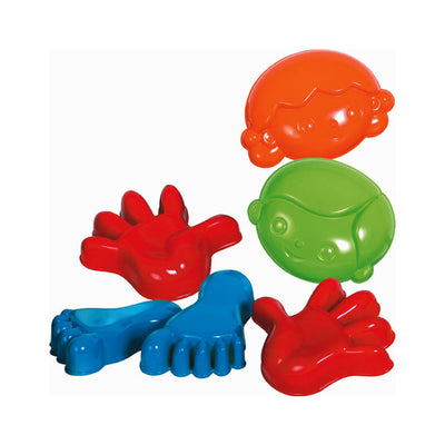 Gowi Sand Molds 6 Pack