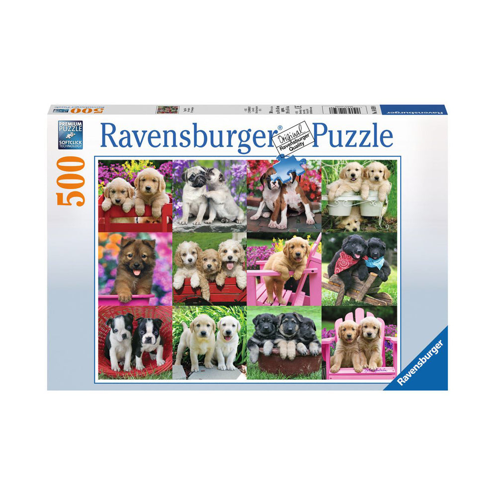 Ravensburger Puppy Pals 500pc Puzzle
