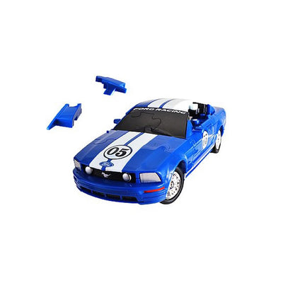 Blue Mustang 3D Puzzle