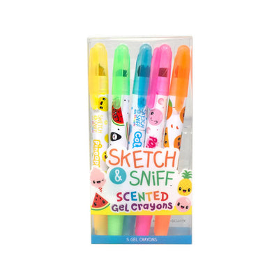 Scentco Sketch and Sniff Gel Crayons 5 Pack