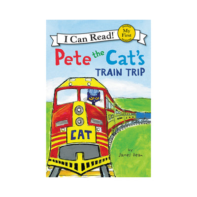 Pete the Cat's Train Trip My First Reader