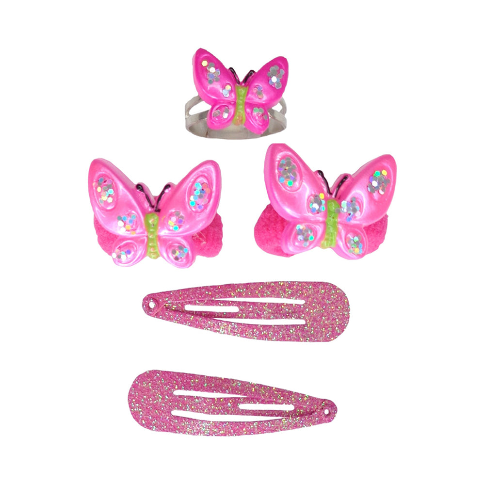 Great Pretenders Wing and Wiggle Ring and Hair 5pc Set