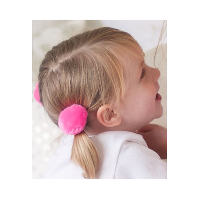 Great Pretenders Pom Pom Puffs Ponytail Holders