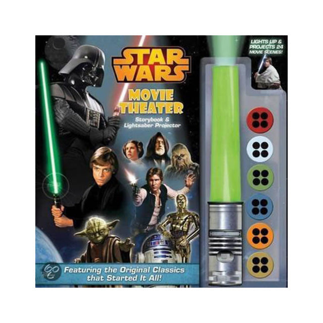 Star Wars Movie Theater Storybook and Lightsaber Projector