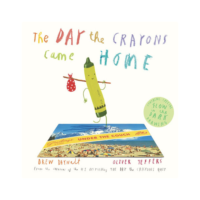 The Day the Crayons Came Home Storybook