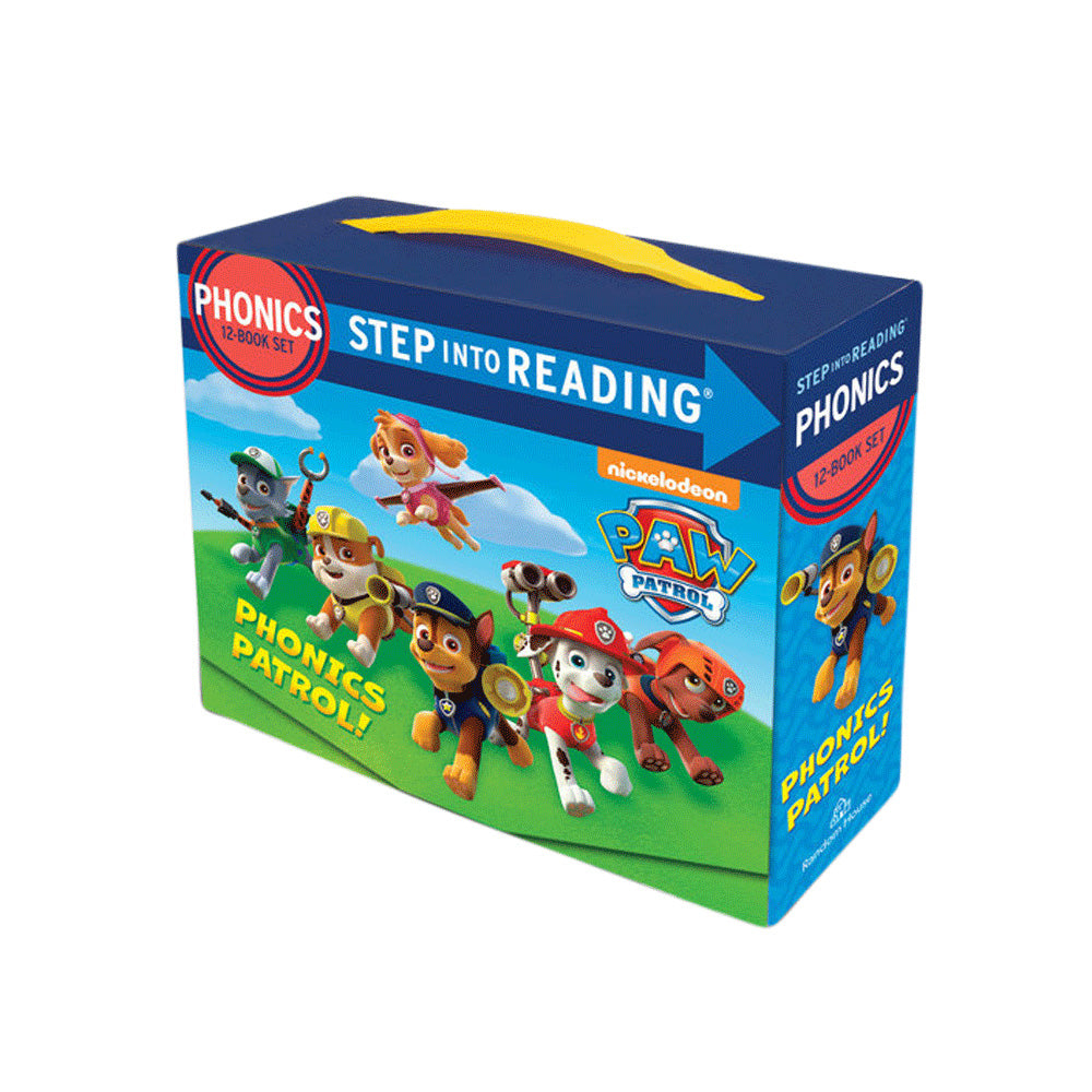 PAW Patrol Phonics Patrol! 12-Book Boxed Set