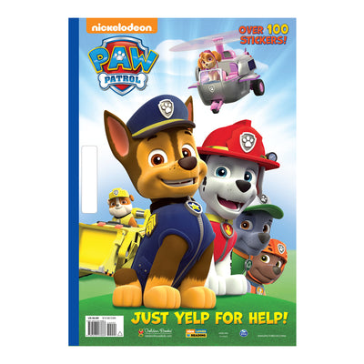 PAW Patrol: Just Yelp for Help! Colouring Book
