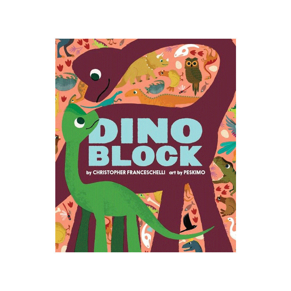 Dinoblock Board Book