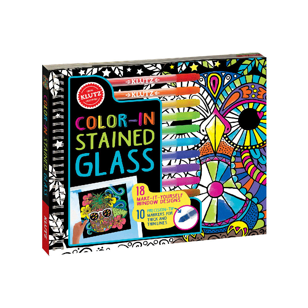 Klutz Color-In Stained Glass Book
