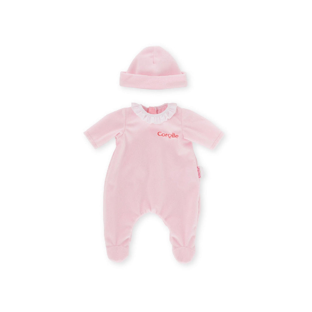 Corolle Mon Classique 14'' Pink Pajamas Doll Outfit