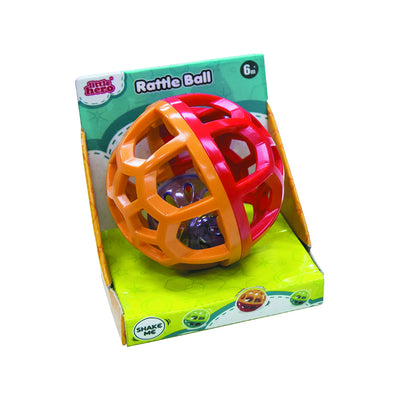 Little Hero Rattle Ball Assorted