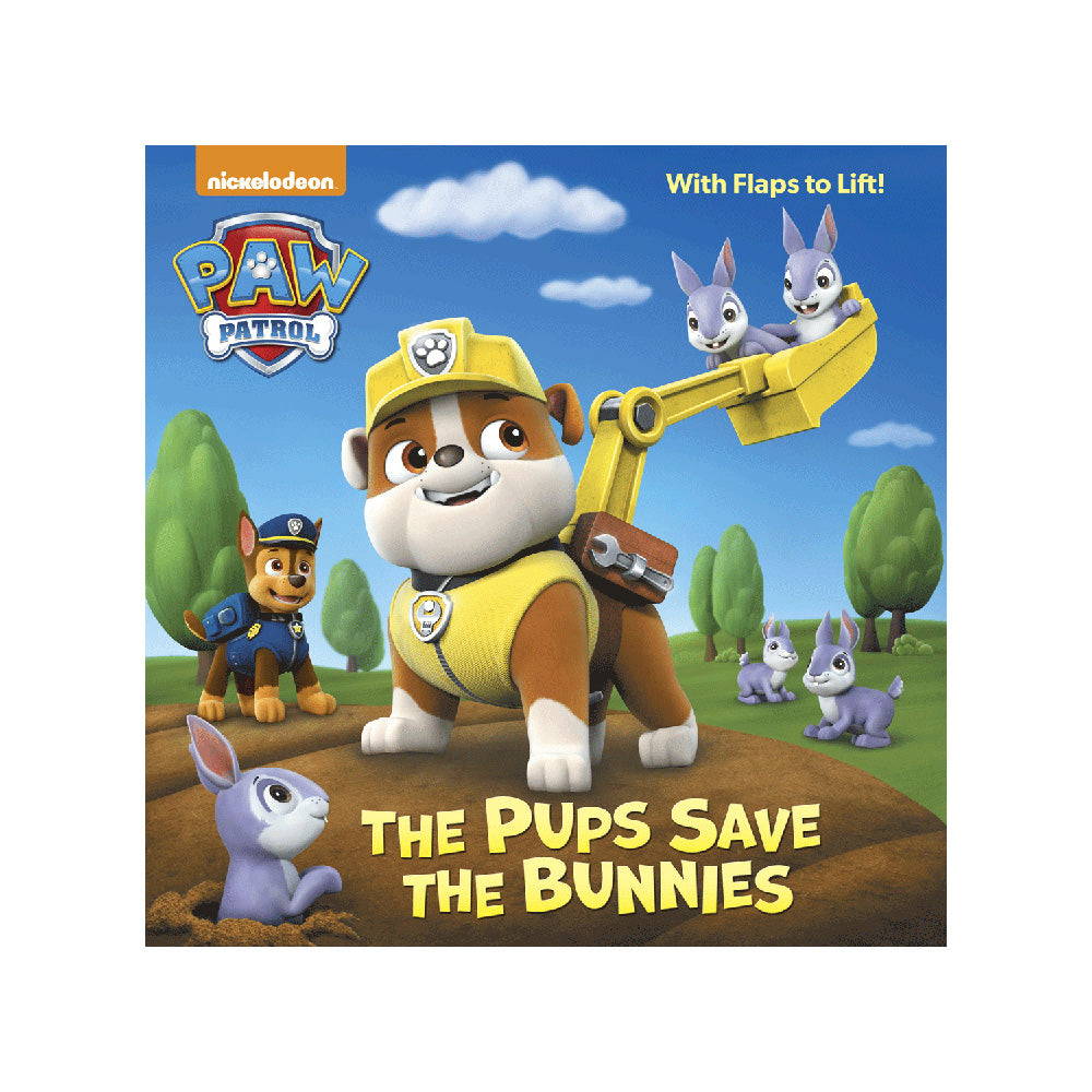 Paw Patrol The Pups Save the Bunnies Storybook